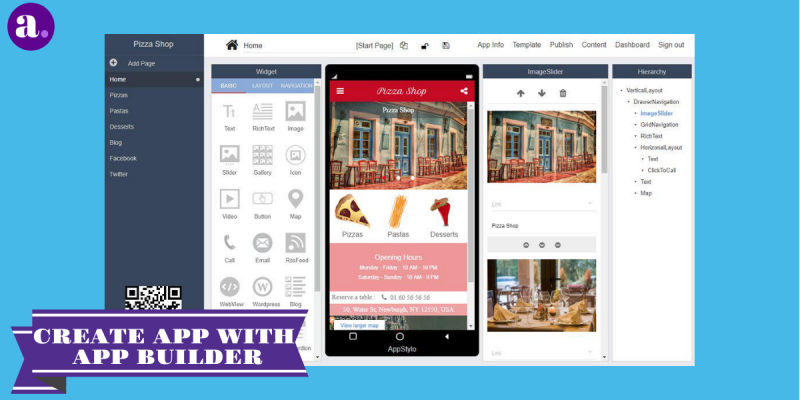 create android app with app builder