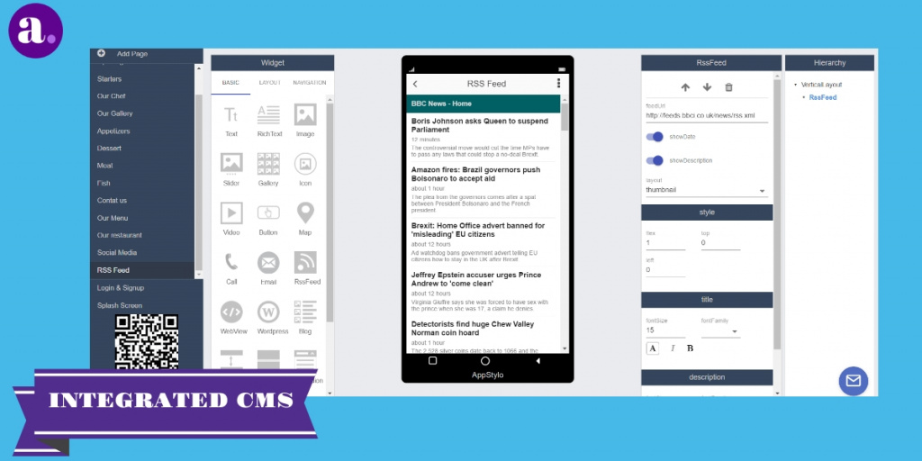 free app builder CMS